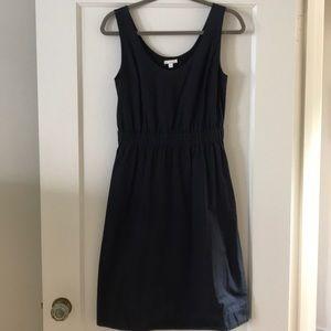 GAP black woven cotton dress